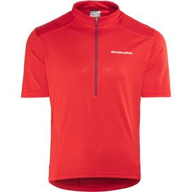 Endura Hummvee Short Sleeve Jersey Men red